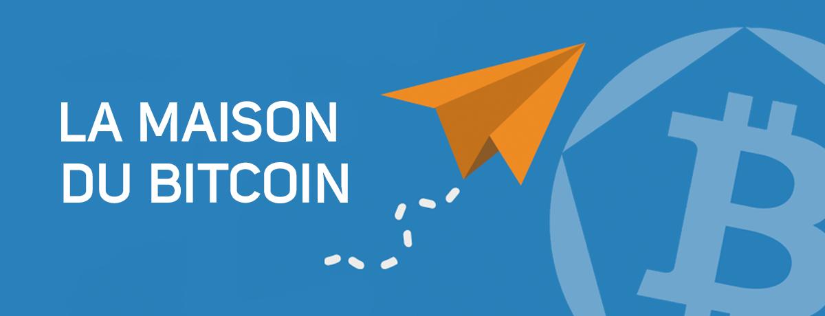 Bitcoin centres: La Maison du bitcoin