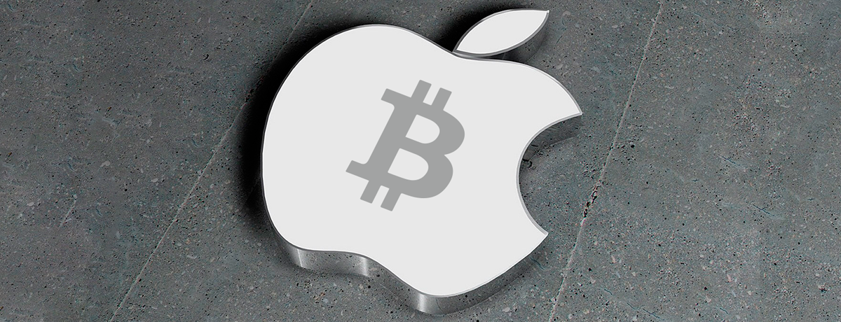 Did Apple change their view on bitcoin?