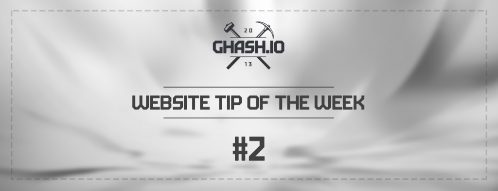 GHash.IO Website Tip #2