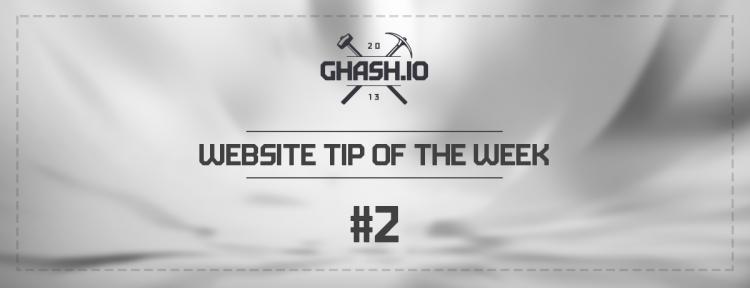 GHash.IO Website Tip #2