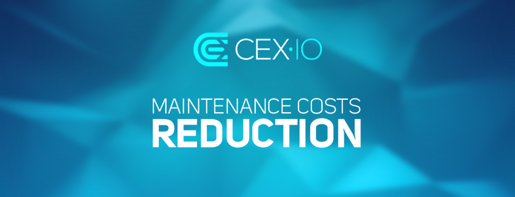 CEX.IO lowers maintenance costs and updates Bitcoin mining hardware line-up