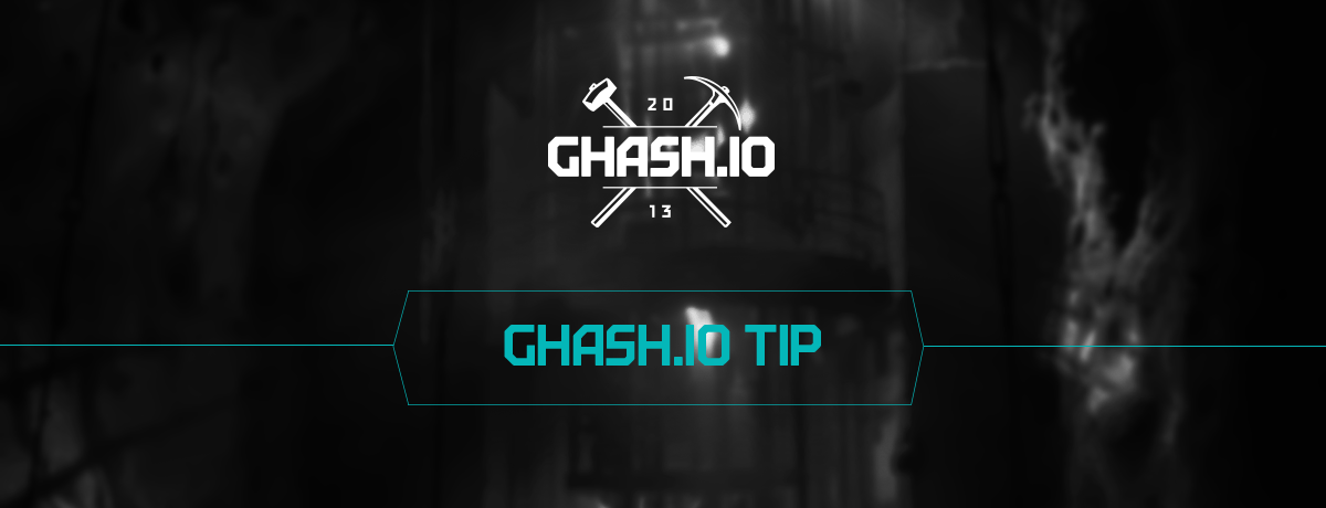 What Are The Mining Options At GHash.IO And Why Do You Need To Know About Them?