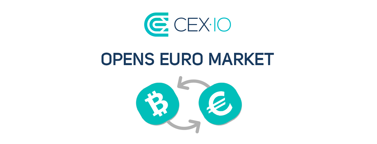 CEX.IO Adds Euro Support