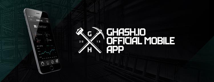 CEX.IO presents official GHash.IO iOS Application