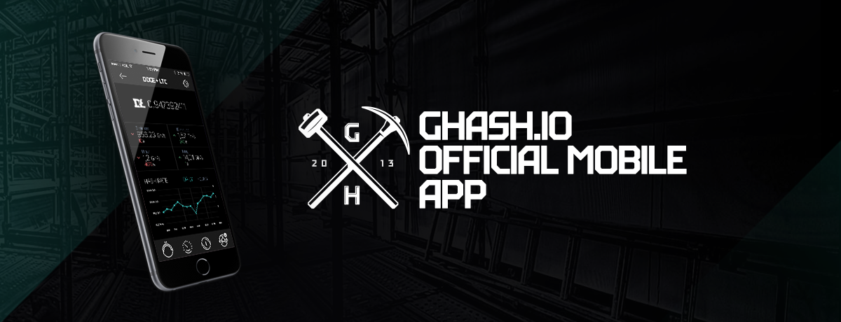 CEX.IO presents official GHash.IO iOS Application