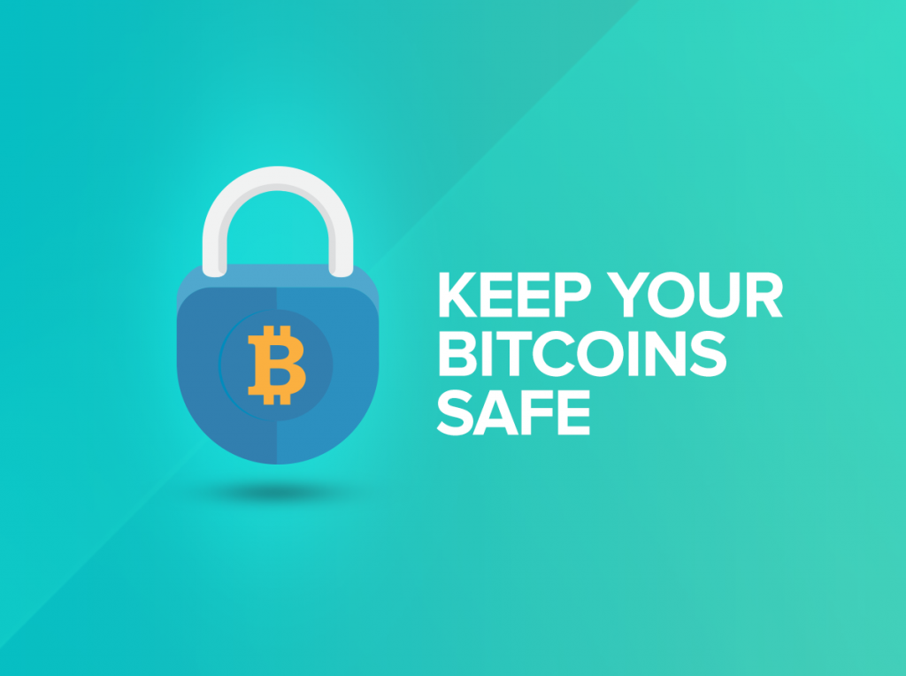 How to keep Bitcoins safe
