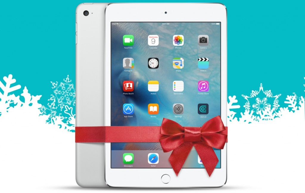 Win an iPad for Winter Holidays!