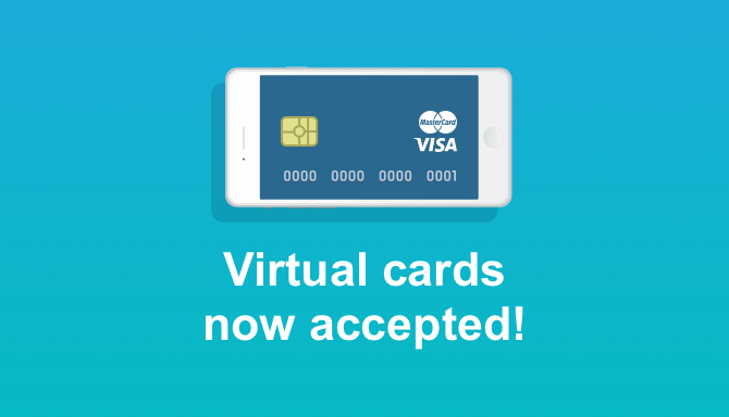 CEX.IO Accepts Virtual Cards