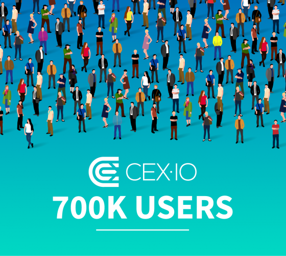 CEX.IO Bitcoin Exchange Reached 700,000 Users