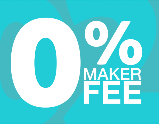 CEX.IO Introduces Maker-Taker Fee Schedule, Sets Maker Fee to 0%