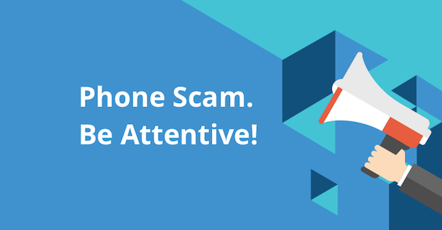 Scam Warning and Disclaimer