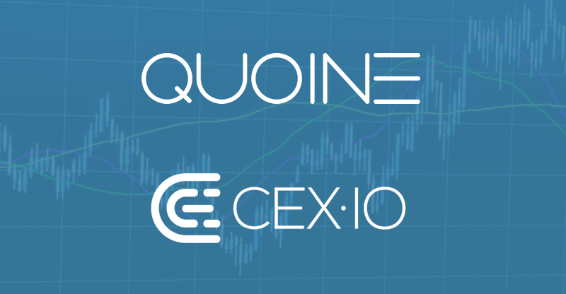QUOINE and CEX.IO Announce Strategic Partnership to Increase Liquidity in Cryptocurrency Markets