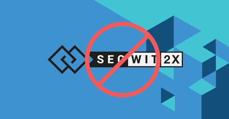 SegWit2x Suspension and CEX.IO Update