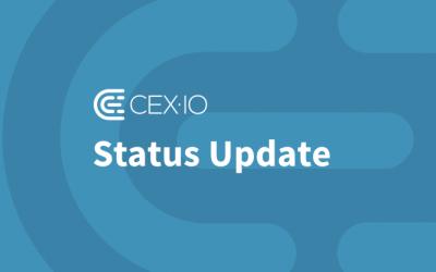 CEX.IO Status Update