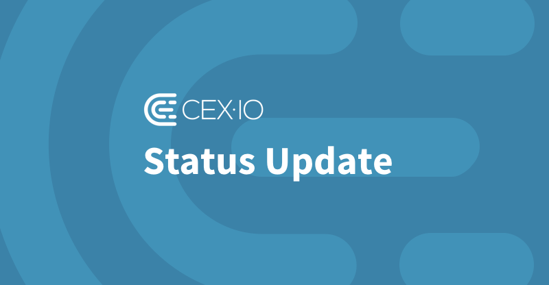 cex io status page