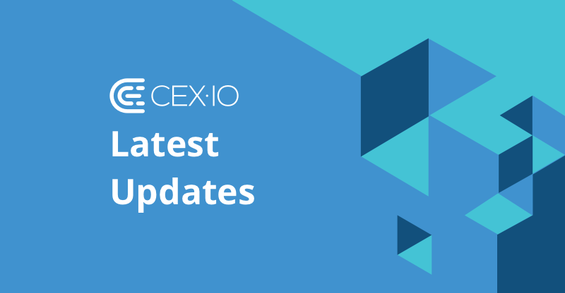 The Latest Updates on CEX.IO Service