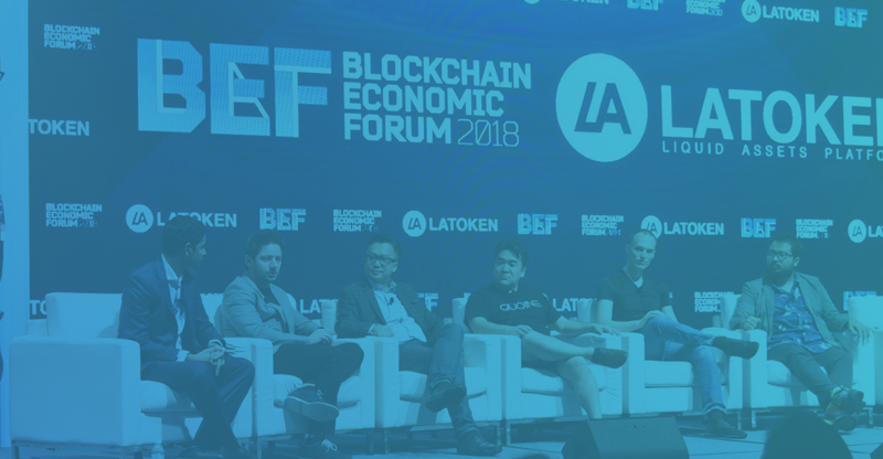 Blockchain Economic Forum as a Venue for Cryptocurrency Advancements