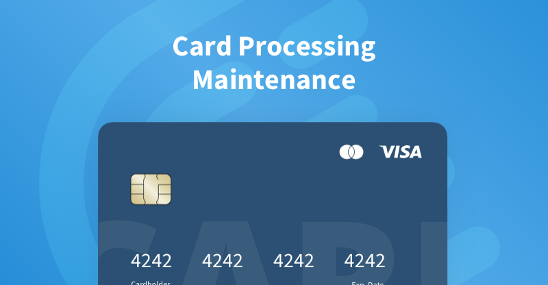 Card Maintenance on CEX.IO