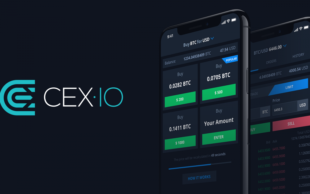 Smart Look. Smart Trade. Meet the New Design of CEX.IO Mobile App for iOS