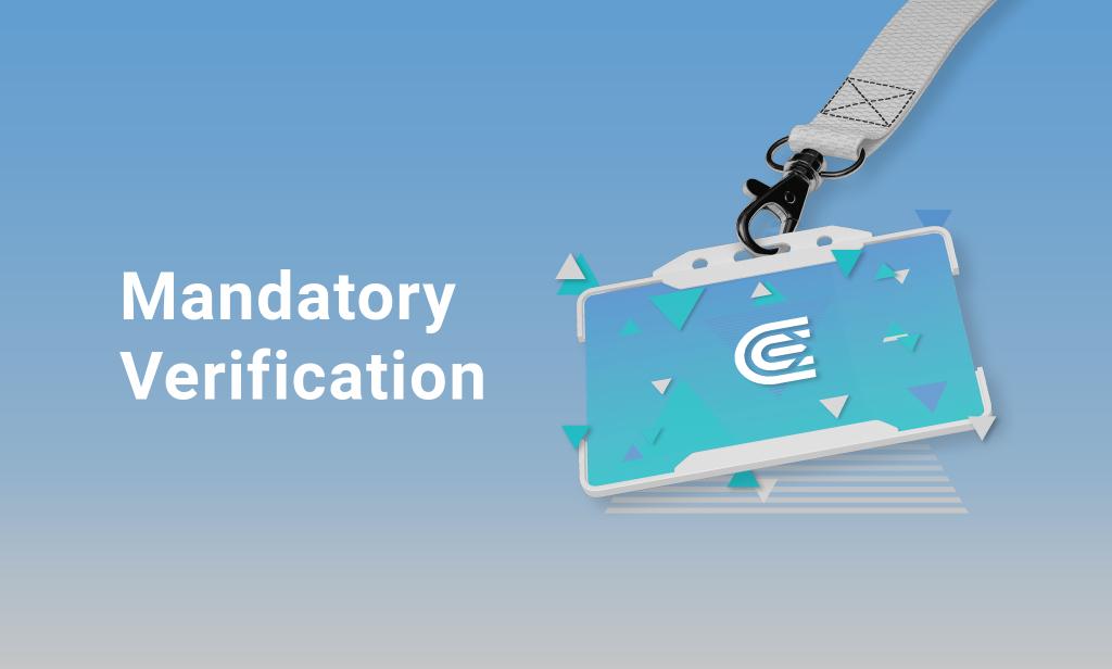 Mandatory Verification Comes into Effect on CEX.IO