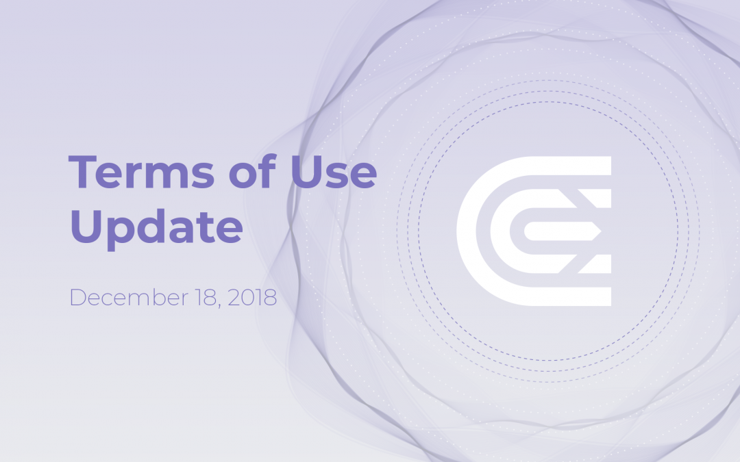 Terms of Use Updated: December 18, 2018