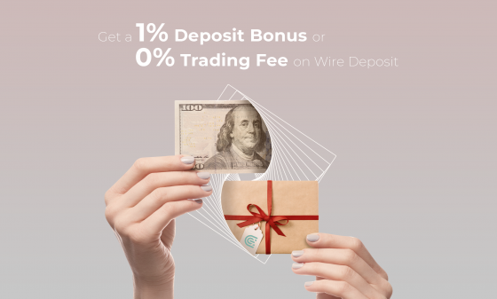 Bonus on Wire Deposit on CEX.IO