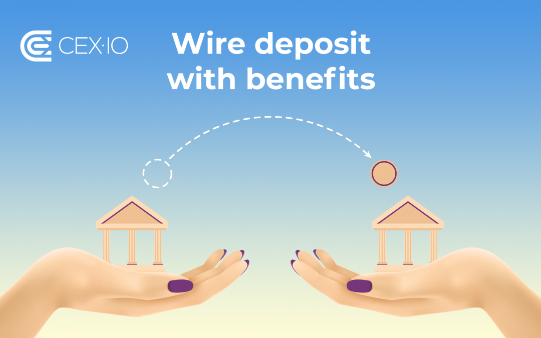 Get 1% Bonus or 0% Trading Fee on Wire Deposit
