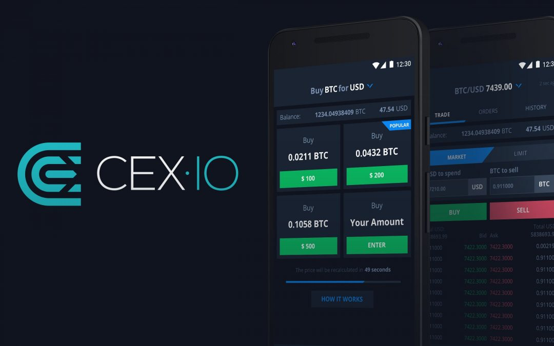 Following the iOS App Update, CEX.IO Has Launched New Design in the Mobile App for Android