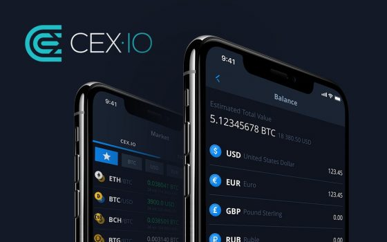 New Features in the Updated CEX.IO Mobile App