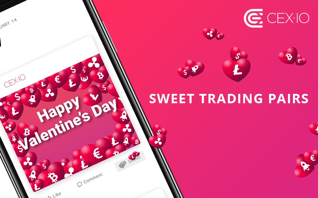 0.01% Trading Fee on Sweet Trading Pairs to Celebrate Valentine's Day