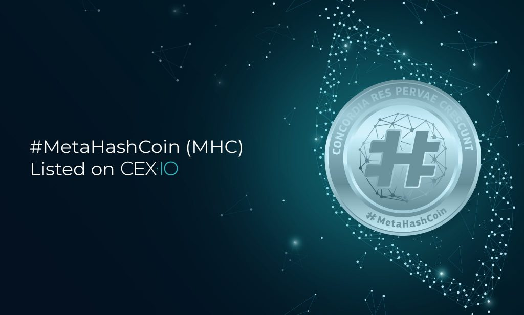 New Coin on CEX.IO: Welcome #MetaHashCoin!