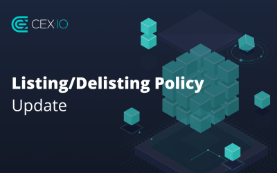 Changes to Our Listing/Delisting Policy