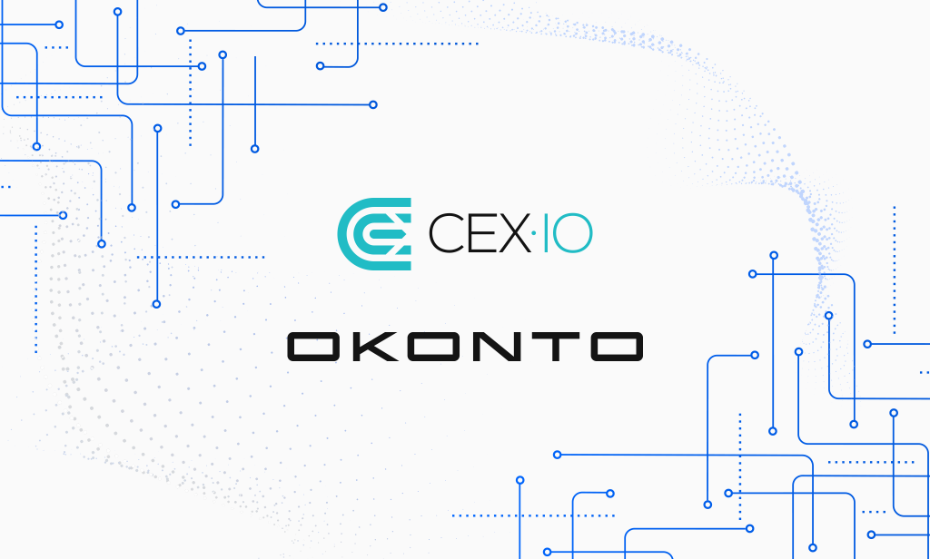 CEX.IO Partners with OKONTO to Develop New Financial Market
