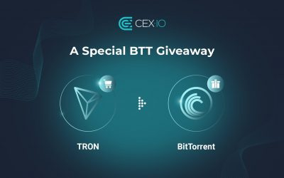 CEX.IO Launches BTT Giveaway