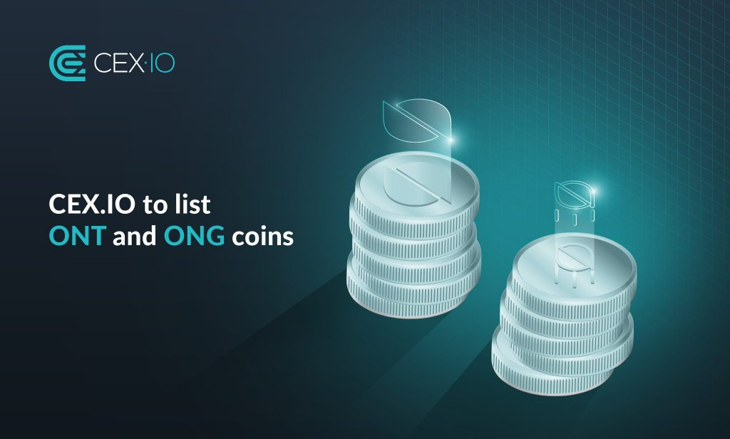 CEX.IO to list ONT and ONG coins