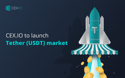 Updated! CEX.IO to Launch Tether (USDT) Market with a Special Offer