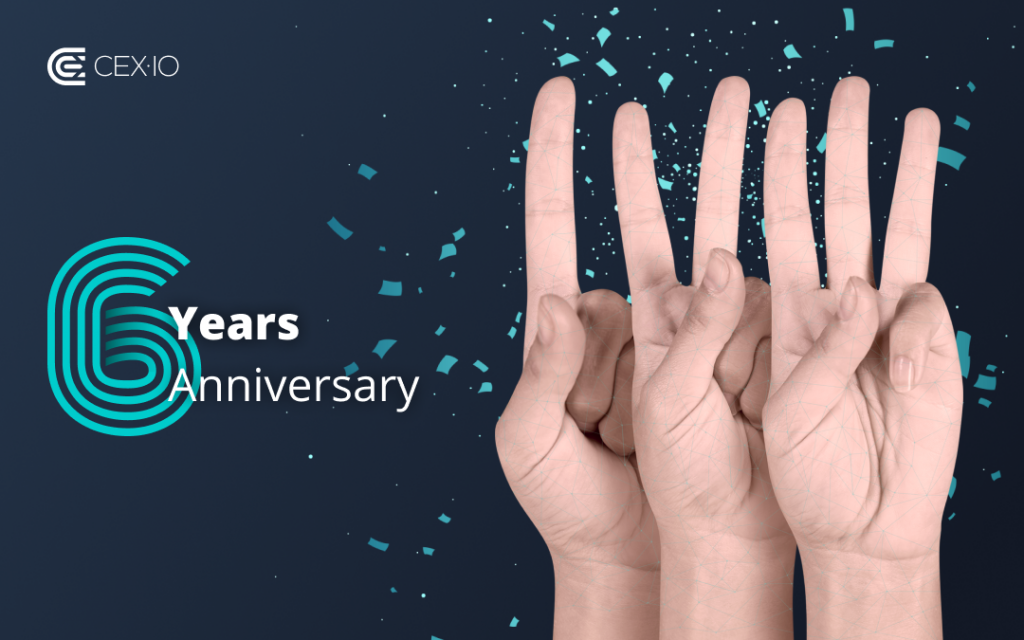 CEX.IO: 5+1 Years of Making a Difference