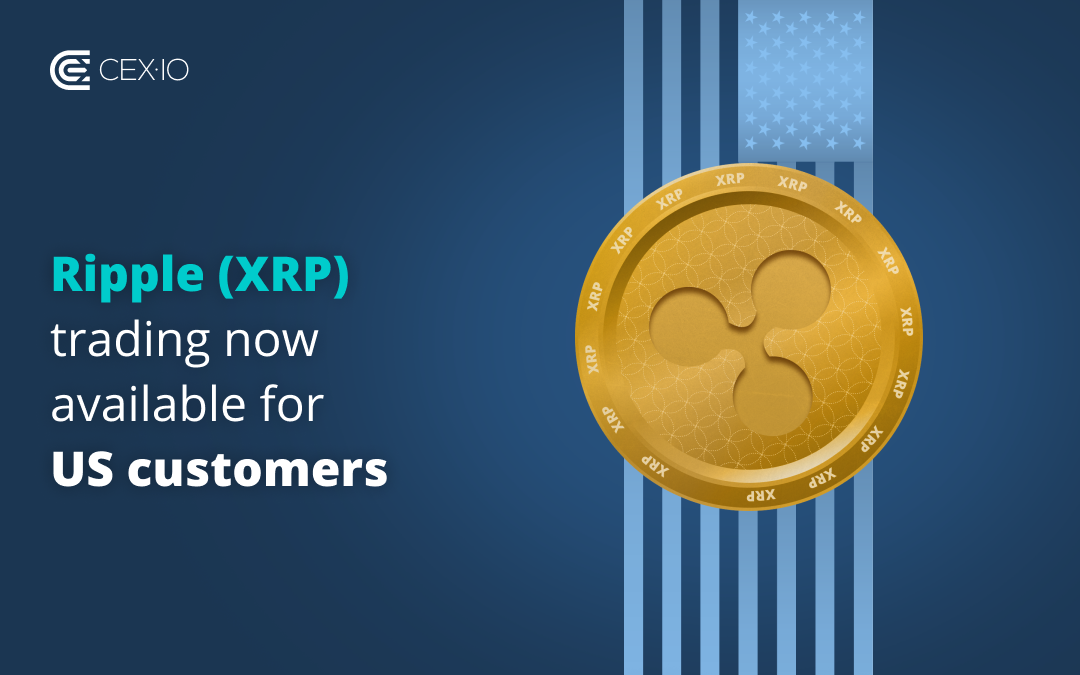 Ripple (XRP) trading now available for US customers!