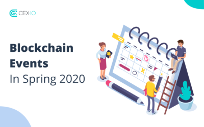 Blockchain Events in Spring 2020