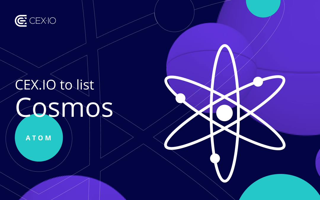 CEX.IO to list Cosmos (ATOM)