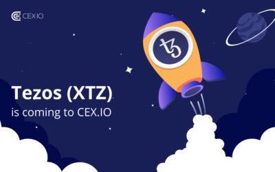 Tezos (XTZ) is coming to CEX.IO!