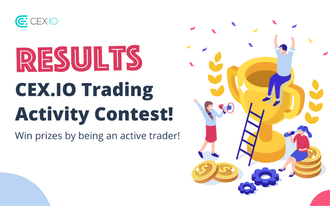 Results are in: Winners of the CEX.IO Trading Activity Contest