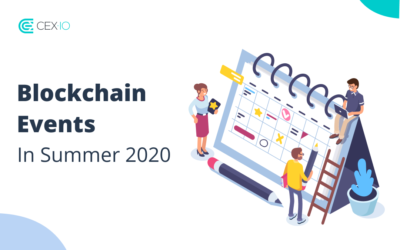 Blockchain events in summer 2020