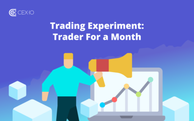 Announcing The Trading Experiment on CEX.IO Broker: Trader For A Month