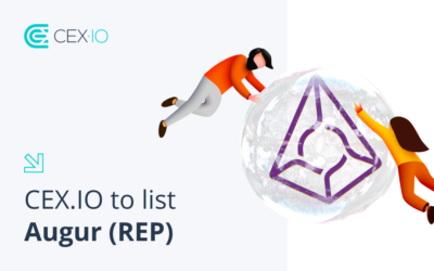 Updated: CEX.IO to list Augur (REP)