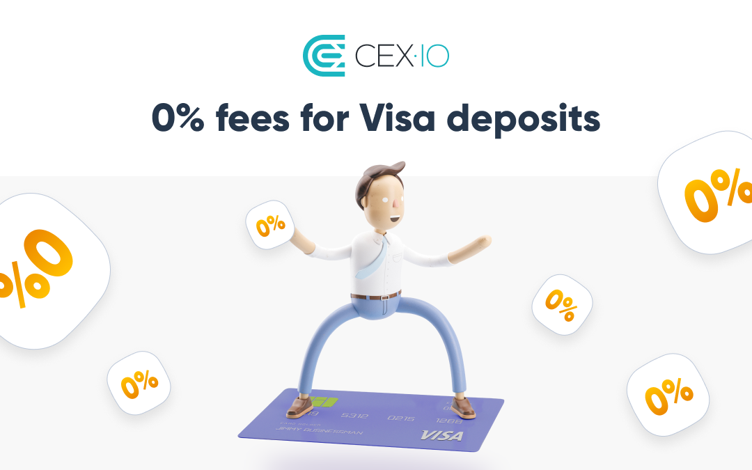 Hot Offer for The End of Summer: Deposit Using Your Visa Card with Zero Fee on 28-31 August