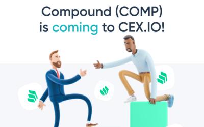 CEX.IO to List Compound (COMP)