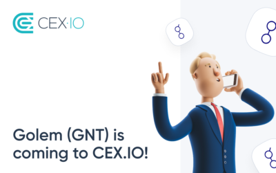 Golem (GNT) is coming to CEX.IO