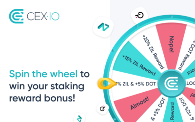 Announcing Staking Promotion: Spin the Wheel and Reveal Your Staking Reward Bonus for ZIL and DOT
