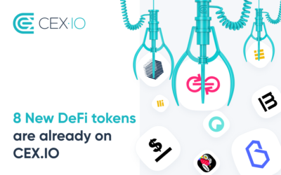 CEX.IO Added 8 New DeFi Tokens